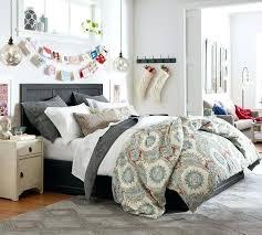 Sears Platform Bed Grey Fabric Upholstered 4 Drawer Queen Size Storage Platform Bed