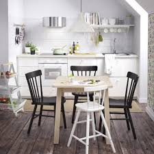 Ikea Dining Room Furniture Sets Counter Height Dining Table Set Metal Kitchen Small Chairs