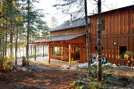 log cabin outdoor lighting board and batten cabin exterior traditional with outdoor lighting