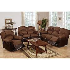 Sofas  Loveseats Leather Kmart - Three piece living room set