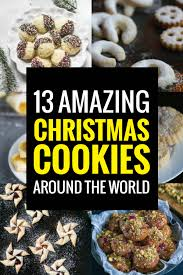 christmas cookies from around the world bacon is magic