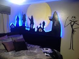contemporary nightmare before bedroom decor with trends of
