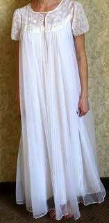 wedding peignoir sets vintage wedding angel sheer white peignoir set s m by monsterpeace