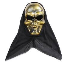 halloween costume scary skeleton mask ghost clothes festival sales