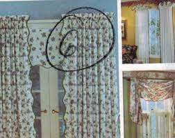Sewing Cafe Curtains Cafe Curtain Pattern Etsy