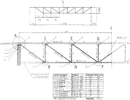 roof truss guide design and construction of standard timber and