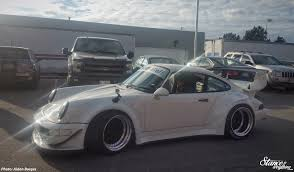 rwb porsche grey rough world toronto stance is everything