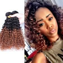 curly hair extensions 7a curly hair extensions two tone 1b 30 ombre