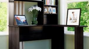 Narrow Computer Desk With Hutch Illustrious Photos Of Modern Stand Up Desk Appealing L Shaped