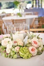 floral centerpieces for weddings pinterest wreath wedding