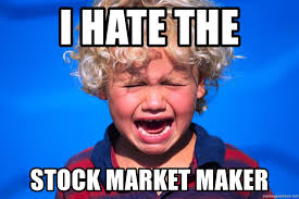 Meme Generator Crying - i hate the stock market maker crying kid alala meme generator