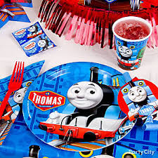 Cat In The Hat Table Centerpieces by Thomas The Train Party Ideas Party City