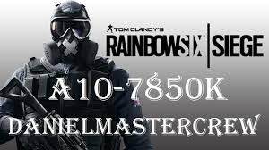 siege a rainbow six siege a10 7850k fps 1080p fps in