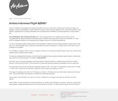Seeking Project Free Tv Crisis Page For Lost Airasia Flight Qz8501 At Http Crisis