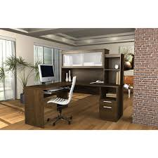 Office Furniture L Desk Sutton L Shape Desk With Hutch