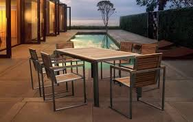 Modern Patio Dining Sets Modern Outdoor Dining Furniture Frontarticle