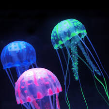 multicolor silica gel simulation jellyfish fish tank and aquarium