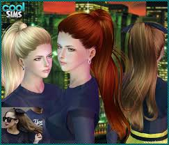sims 3 hair custom content high ponytail sims 3 custom content by coolsims the sims 3 cc