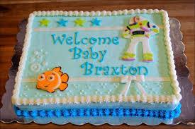 nemo baby shower disney nemo buzz lightyear baby shower cake gray barn baking