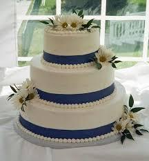 blue wedding cakes diy wedding cake tips u2013 5 simple decoration