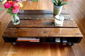 wooden pallet coffee table writehookstudio com