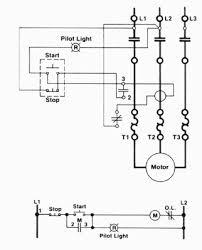 simple motor starter wiring diagram wiring diagram simonand