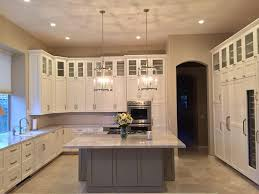white kitchen cabinets grey island kitchen remodeling contractor cabinet part 15