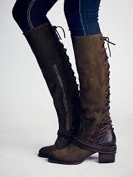 womens boots green free freebird by steven womens coal boot in green lyst