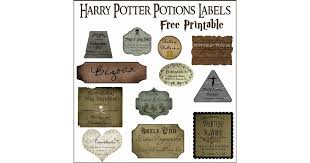 print out potions labels harry potter diys popsugar smart living