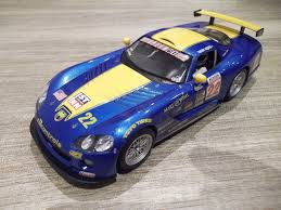 Dodge Viper Yellow - scalextric dodge viper car blue yellow with working lights u2013 the
