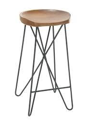 bar stools image of uma metal teak wood bar stool and outdoor