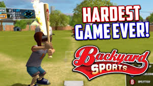 the hardest baseball game ever backyard sports sandlot sluggers