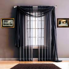 Sheer Navy Curtains Warm Home Designs Navy Blue Window Scarves Sheer Royal Navy