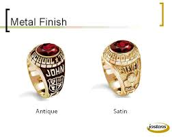 satin finish ring the metal finish satin or antique