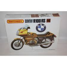 matchbox bmw matchbox bmw r100 rs motorcycle 1 12 scale plastic model kit