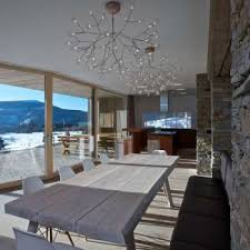 innovative modern chandeliers for dining room contemporary dining