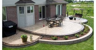 Cement Designs Patio Ideas For Cement Patio