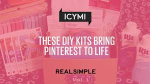 Crafters Supply These Diy Kits Bring Pinterest To Life Real Simple