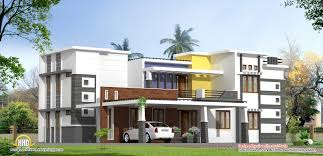 modern contemporary luxury home design 3300 sq ft kerala
