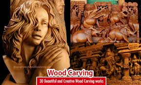 30 beautiful and creative wood carving sculptures and designs
