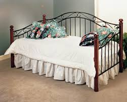 Wrought Iron Daybed Shiloh Metal U0026 Wood Daybed
