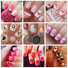 9 perfect love themed nail art designs for valentine u0027s day