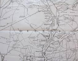 St John Map St John River Steamer Stops Kingston Peninsula Heritage