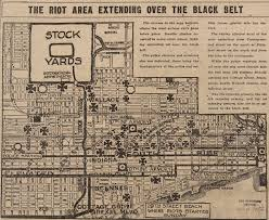 Chicago Community Area Map by Chicago And The Great Migration 1915 U20131950 Digital Collections