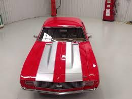 1969 camaro restomod for sale chevrolet camaro coupe 1969 viper with silver rally stripes