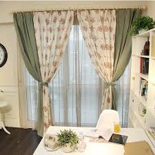 Two Different Colored Curtains Two Color Curtains Curtain Collections