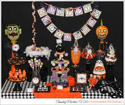 amanda u0027s parties to go halloween dessert table