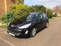 peugeot 2 door car peugeot 308 1 6 hdi sport 5 door 2008 58 in peterborough