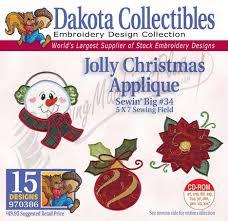 christmas applique collectibles jolly christmas applique embroidery designs 970386