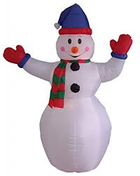 6 foot snowman yard decoration